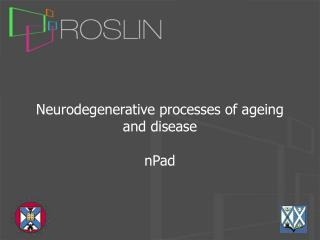 Neurodegenerative processes of ageing and disease nPad