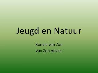 Jeugd en Natuur
