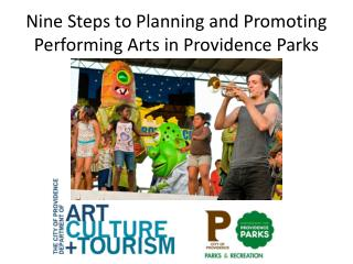 Nine Steps to Planning and Promoting Performing Arts in Providence Parks