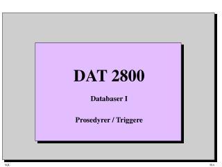 DAT 2800