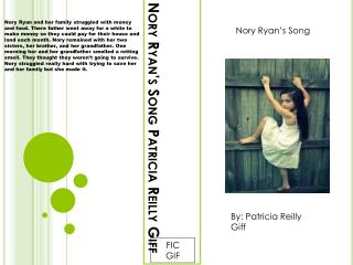 Nory Ryan's Song Patricia Reilly Giff