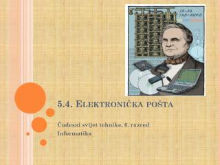 5.4. Elektronička pošta