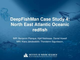 DeepFishMan Case Study 4: North East Atlantic Oceanic redfish