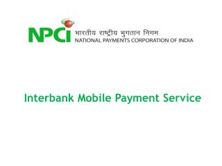 Interbank Mobile  Payment Service