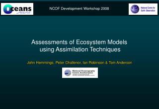 NCOF Development Workshop 2008
