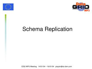 Schema Replication