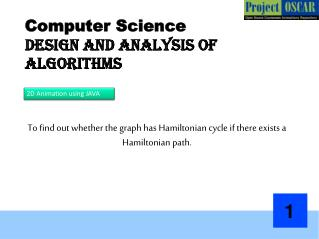 Computer Science Design and Analysis of Algorithms