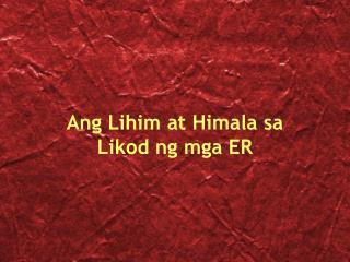 Ang Lihim at Himala sa Likod ng mga ER