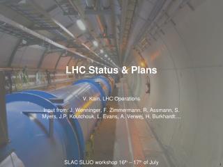 LHC Status & Plans