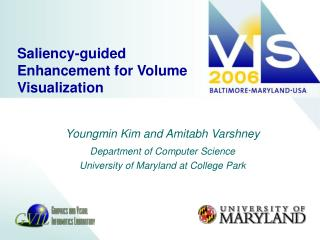 Saliency-guided Enhancement for Volume Visualization