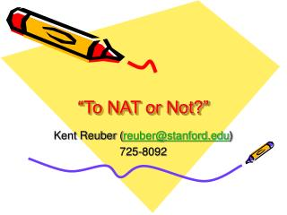 �To NAT or Not?�
