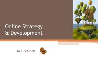 Online Strategy & Development