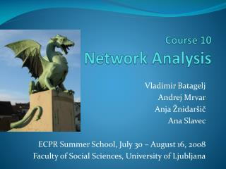 Course 10 Network Analysis