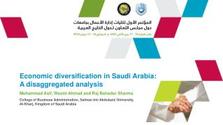 Economic diversification in Saudi Arabia:  A disaggregated analysis