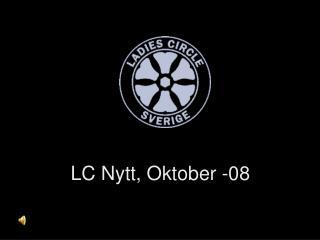 LC Nytt, Oktober -08