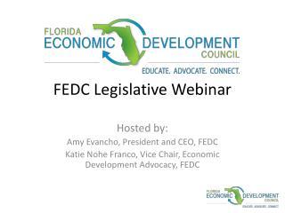 FEDC Legislative Webinar