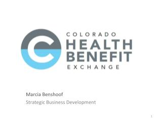 Marcia Benshoof Strategic Business Development
