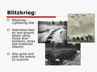Blitzkrieg :
