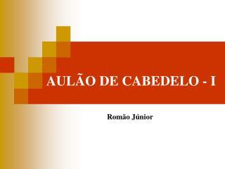 AULÃO DE CABEDELO - I