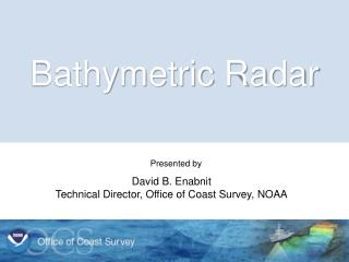 Bathymetric Radar