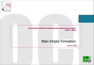 Convention Collective Nationale des commerces de gros CCN n  3044