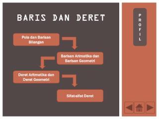 BARIS DAN DERET