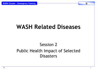 WASH Related Diseases