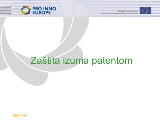 Zaštita izuma patentom