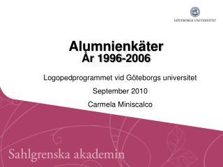 Alumnienkäter År 1996-2006