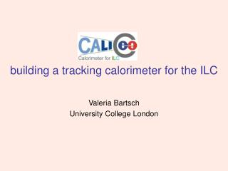 building a tracking calorimeter for the ILC