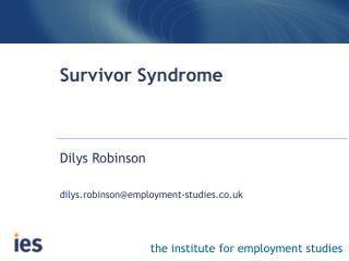 Survivor Syndrome