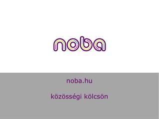 n oba.hu közösségi kölcsön