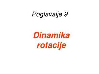 Poglavalje  9