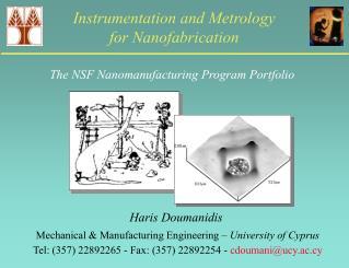 Instrumentation and Metrology  for Nanofabrication
