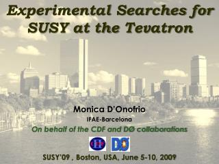 Experimental Searches for SUSY at the  Tevatron