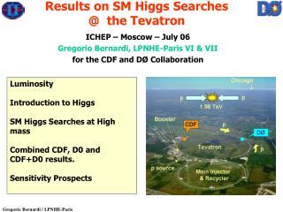 ICHEP – Moscow – July 06   Gregorio Bernardi, LPNHE-Paris VI & VII