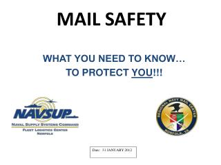 MAIL SAFETY