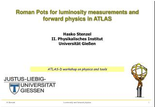 Roman Pots for luminosity measurements and forward physics in ATLAS