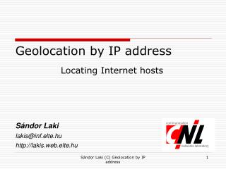 Geolocation by IP address