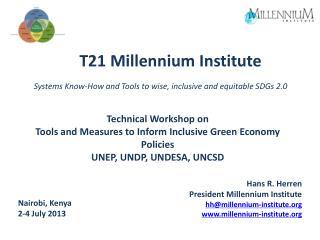 T21 Millennium  Institute
