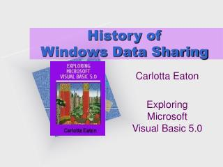 History of  Windows Data Sharing
