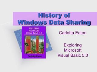 History of  Windows Data Sharing