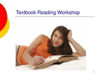 Textbook Reading Workshop