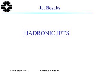 Jet Results