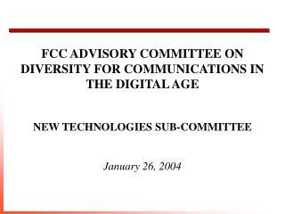 January 26, 2004
