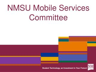 NMSU Mobile Services Committee