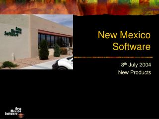 New Mexico  Software