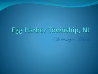 Egg Harbor Township, NJ