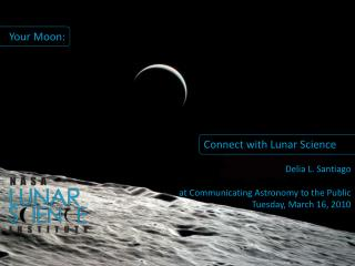 Connect with Lunar Science