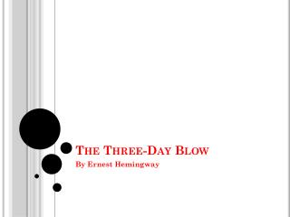The Three-Day Blow